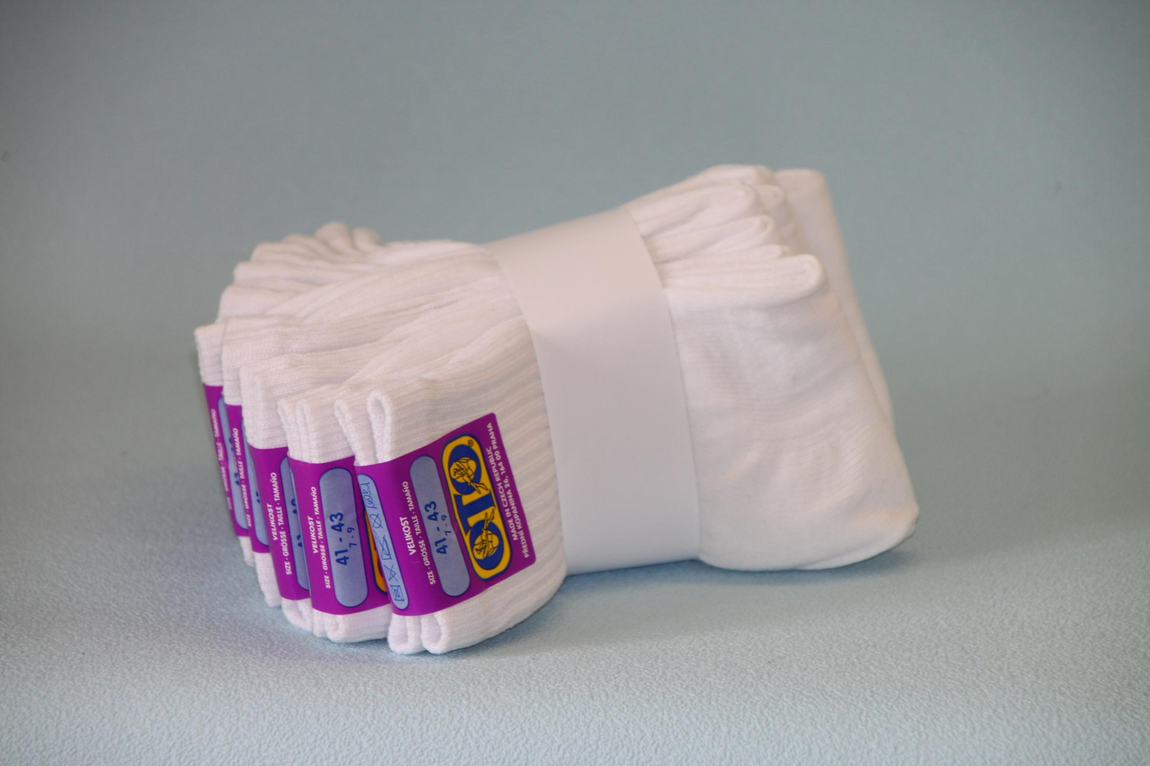 Výhodné balení! - 10x Ange hladké bílé